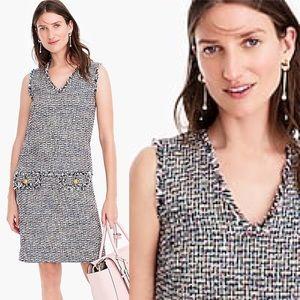 J. CREW 2019 SS Tweed Sleeveless Dress